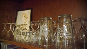 Glassware Shelf